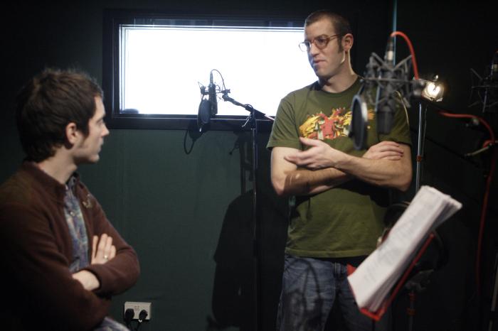 Elijah Wood And Shane Acker In 9 2009