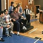 Parker Posey, Bob Balaban, Christopher Guest, Catherine O'Hara, Matt Keeslar, Eugene Levy, and Fred Willard in Waiting for Guffman (1996)