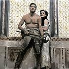 Paul Hubschmid and Debra Paget in Das indische Grabmal (1959)