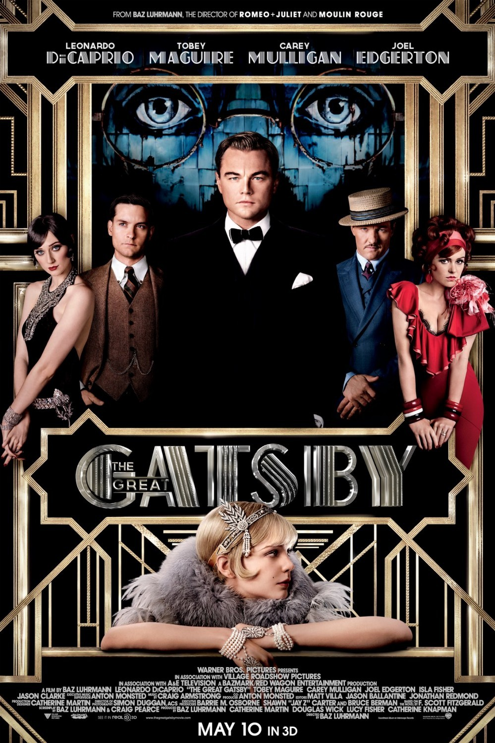 The Great Gatsby (2013) BluRay 480p, 720p & 1080p