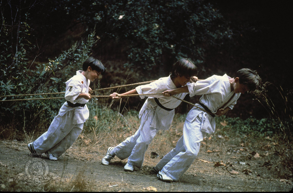 Chad Power, Max Elliott Slade, and Michael Treanor in 3 Ninjas (1992)
