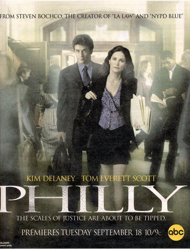 Kim Delaney and Tom Everett Scott in Philly (2001)