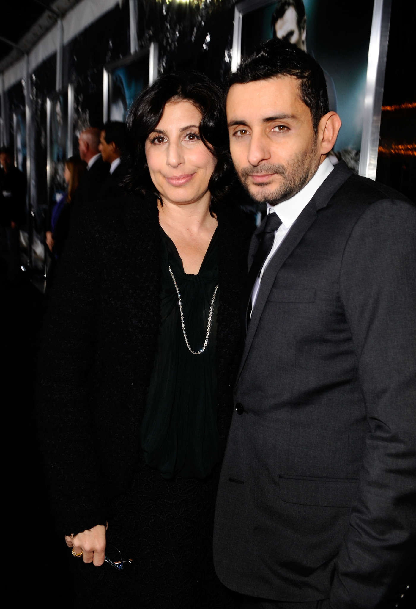 Jaume Collet-Serra and Sue Kroll at an event for Unknown (2011)