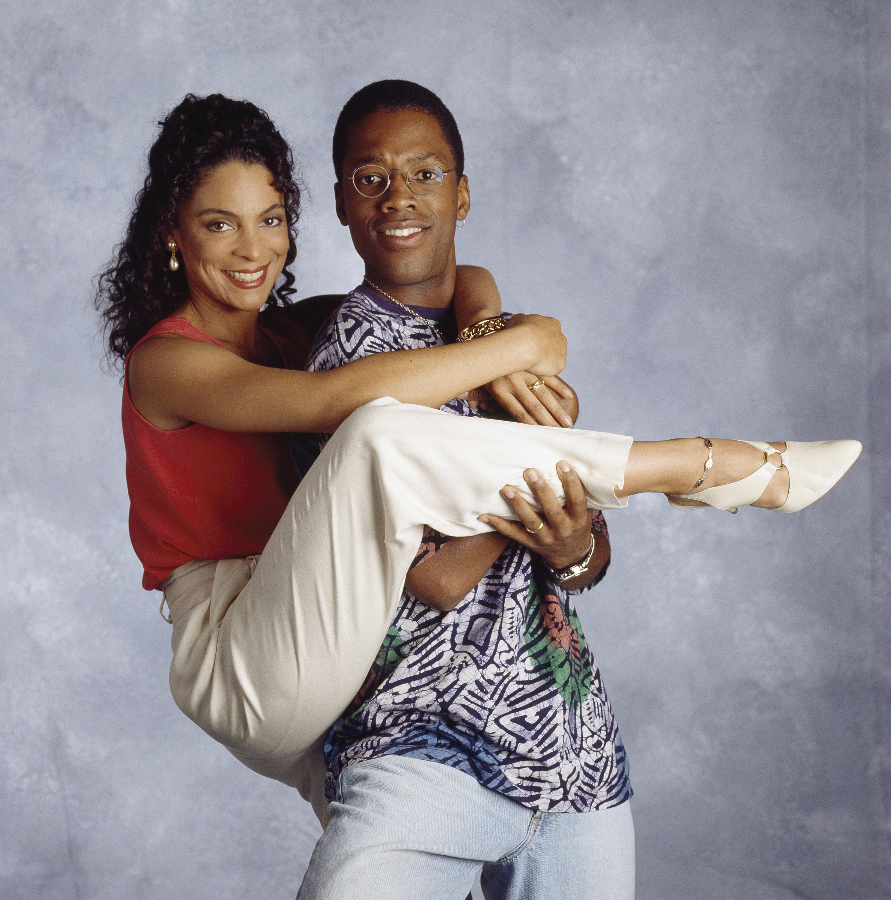 Jasmine Guy and Kadeem Hardison in A Different World (1987)