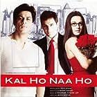 Preity Zinta, Saif Ali Khan, and Shah Rukh Khan in Kal Ho Naa Ho (2003)
