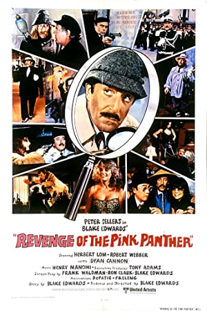 Revenge of the Pink Panther Poster Image