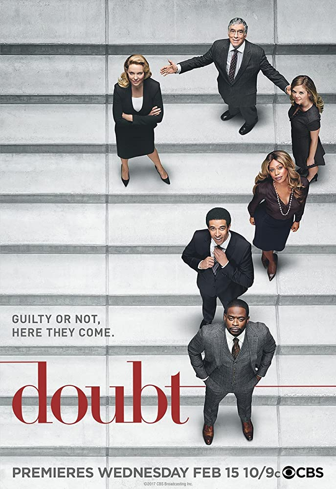 Elliott Gould, Katherine Heigl, Dulé Hill, Laverne Cox, Dreama Walker, and Kobi Libii in Doubt (2017)