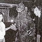 Tim Burton and Kôichi Kawakita in Gojira vs. Mosura (1992)