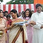 Tapas Pal, Laboni Sarkar, and Srabanti Chatterjee in Josh (2010)