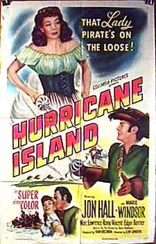 Lew Landers Hurricane Island Movie