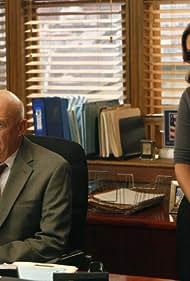 Mariska Hargitay and Dann Florek in Law & Order: Special Victims Unit (1999)