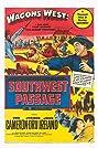 Southwest Passage (1954) Poster