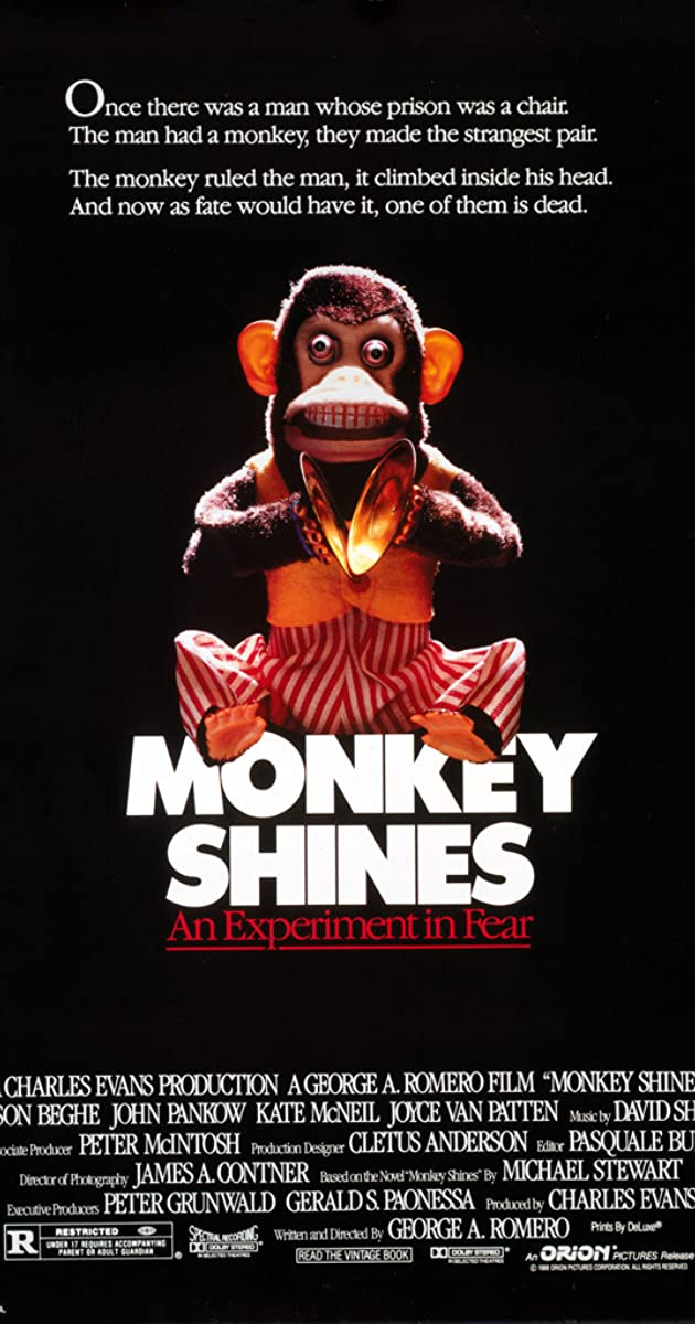 Monkey Shines 1988 Imdb