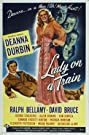Lady on a Train (1945) Poster