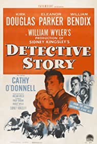 Kirk Douglas, William Bendix, Frank Faylen, Lee Grant, Horace McMahon, Cathy O'Donnell, Eleanor Parker, and Joseph Wiseman in Detective Story (1951)