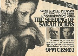 The Seeding of Sarah Burns (1979)