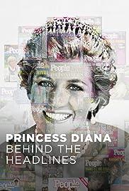 Princess Diana Behind The Headlines Poster