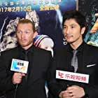 """Erroll Shand and Jeff Liu at the media launch of """"Journey into the forbidden valley"""""""