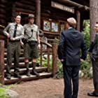 Tom Cavanagh, Andrew Daly, Nate Corddry, and T.J. Miller in Yogi Bear (2010)