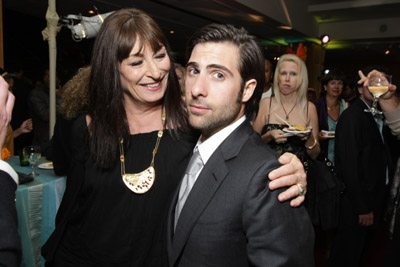 Anjelica Huston and Jason Schwartzman at an event for The Darjeeling Limited (2007)