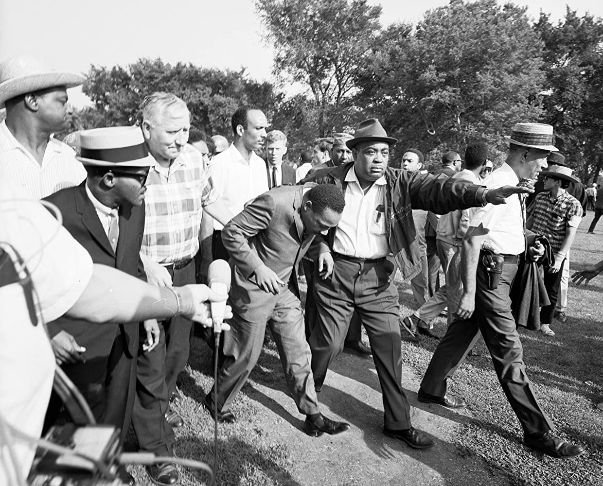 La lucha pacífica de Martin Luther King