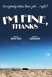 I'm Fine, Thanks Poster
