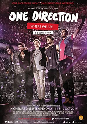 Where to stream One Direction: Where We Are - The Concert Film