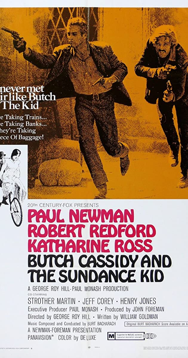 BUČAS KESIDIS IR SANDENSAS KIDAS (1969) / Butch Cassidy and the Sundance Kid