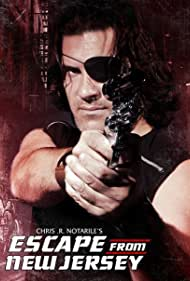 """Official poster with Hector De La Rosa as """"Snake Plissken"""""""