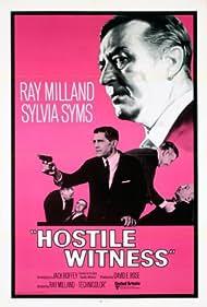 Hostile Witness (1970) Poster - Movie Forum, Cast, Reviews