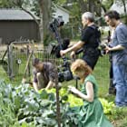 Brad Pitt, Jörg Widmer, Emmanuel Lubezki, and Jessica Chastain in The Tree of Life (2011)