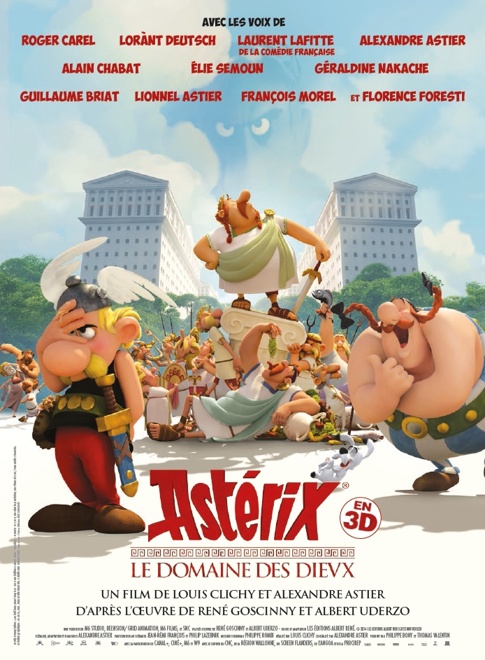 Asterix And Obelix Mansion Of The Gods (2014) Hindi Dual Audio 300MB BluRay ESubs