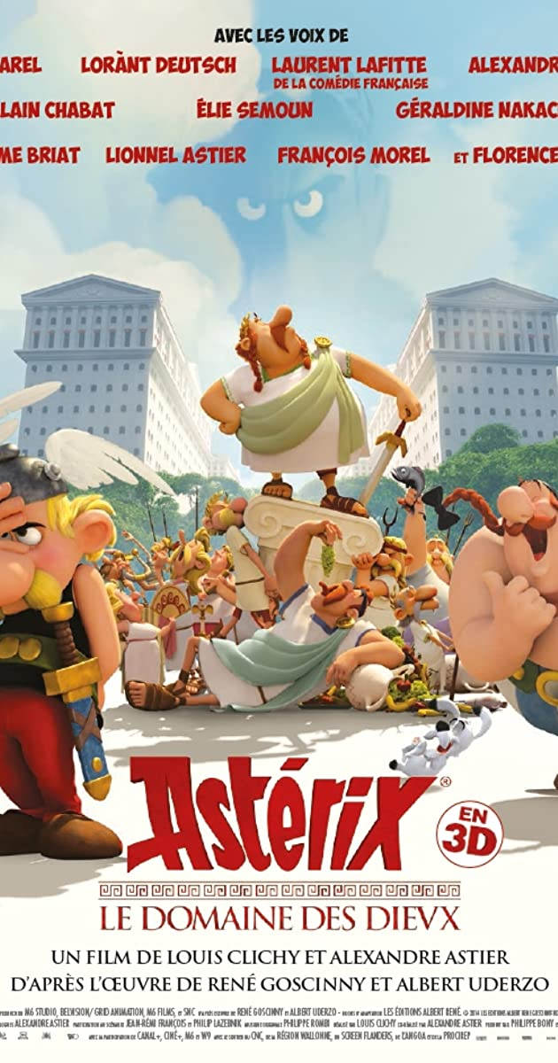 Subtitle of Asterix and Obelix: Mansion of the Gods