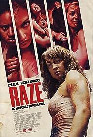 Rachel Nichols, Zoë Bell, and Tracie Thoms in Raze (2013)