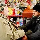 Donald Sutherland and Joshua Jackson in Aurora Borealis (2005)