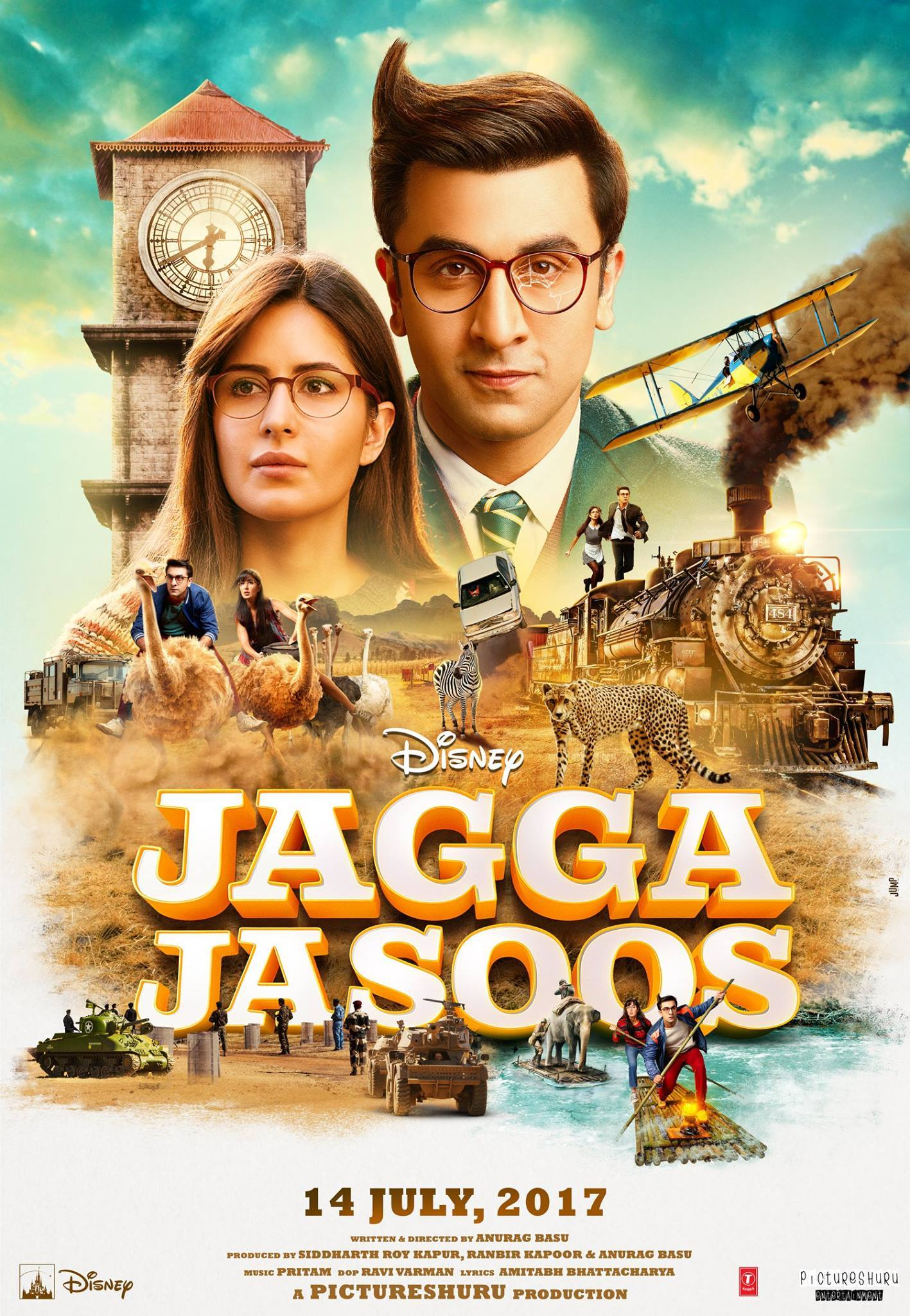 Jagga Jasoos (2017) BluRay 480p, 720p & 1080p