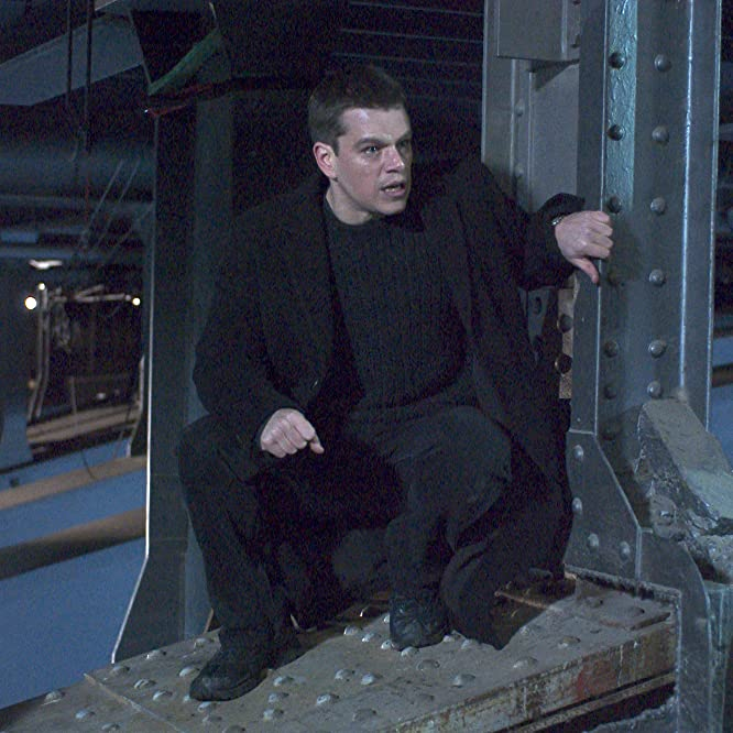 Matt Damon in The Bourne Supremacy (2004)