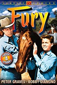 Bobby Diamond, Peter Graves, and Highland Dale in Fury (1955)