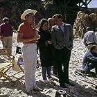 """""""The Sandpiper"""" Director Vincente Minnelli, Elizabeth Taylor, Richard Burton 1965 MGM"""