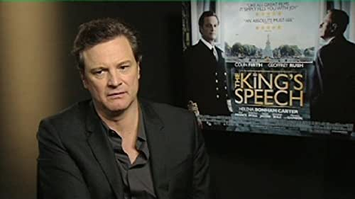 """LOVEFiLM Interview: Colin Firth and Tom Hooper for """"The King's Speech"""""""