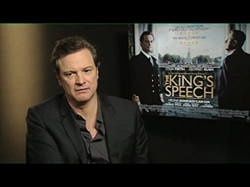 "LOVEFiLM Interview: Colin Firth and Tom Hooper for ""The King's Speech"""