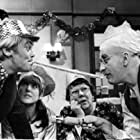 Anthony Booth, Warren Mitchell, Dandy Nichols, and Una Stubbs in Till Death Us Do Part (1965)