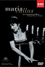 Maria Callas at Covent Garden Poster