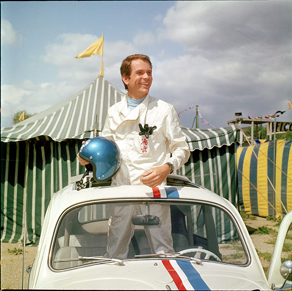 Dean Jones in The Love Bug (1968)