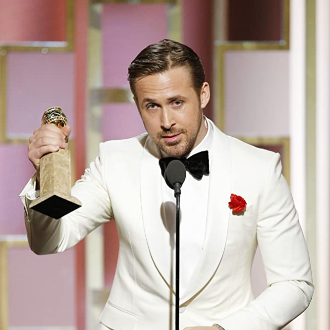 Ryan Gosling at an event for The 74th Golden Globe Awards (2017)