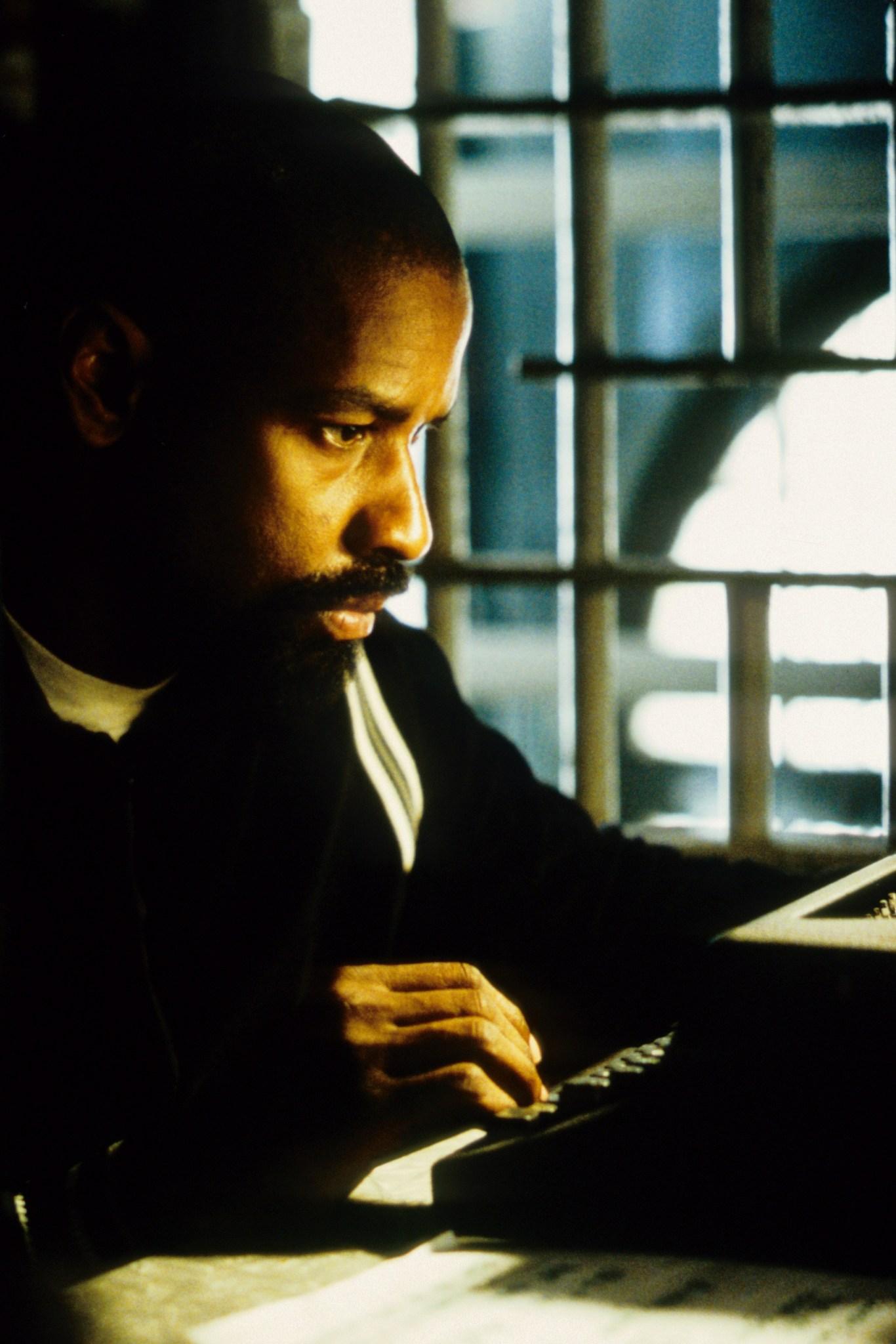 Denzel Washington in The Hurricane (1999)