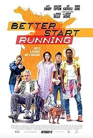 Jeremy Irons, Maria Bello, Edi Gathegi, Lio Tipton, and Alex Sharp in Better Start Running (2018)