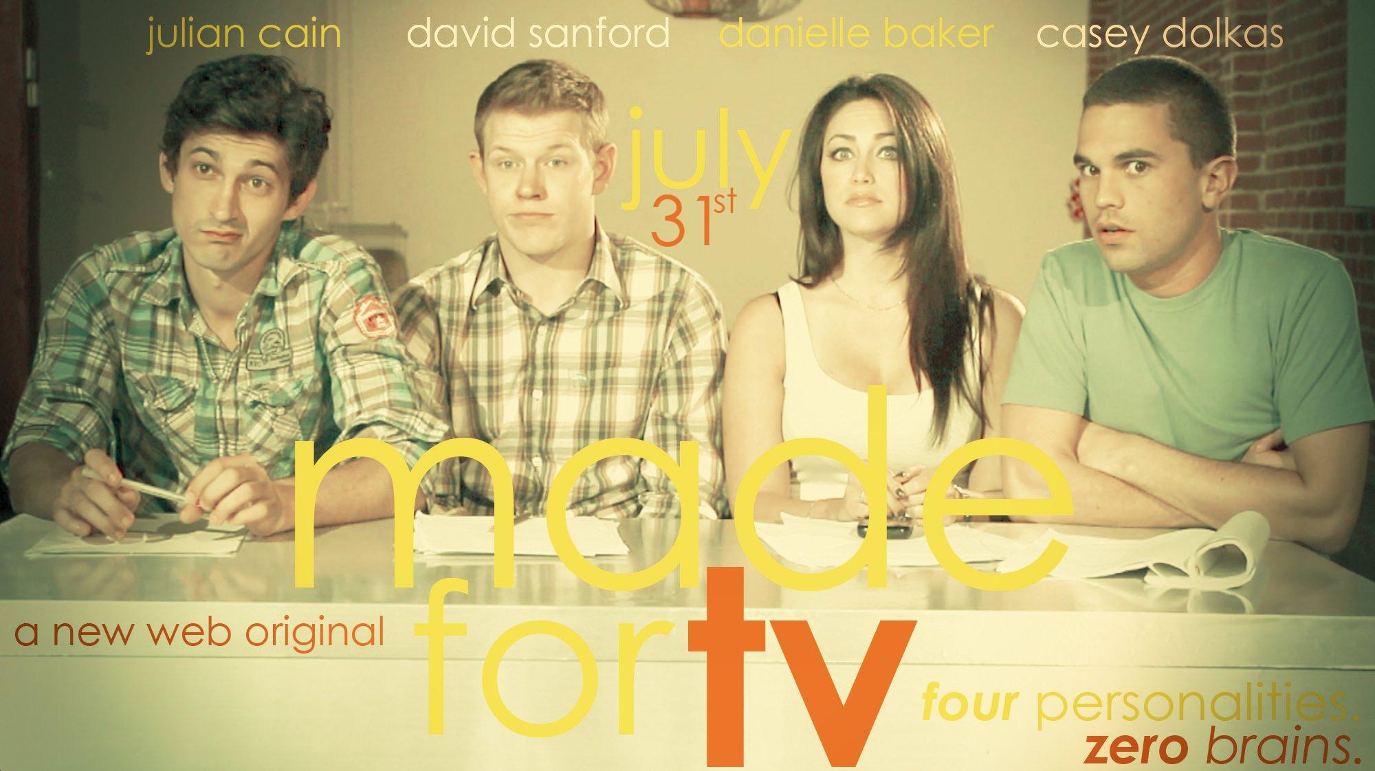 Casey Dolkas, Danielle Baker, and David Sanford in Made for TV (2011)