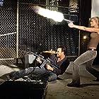 Christian Slater and Tara Reid in Alone in the Dark (2005)