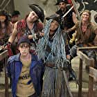 China Anne McClain, Addy Chan, Mitchell Hope, Dylan Playfair, Thomas Doherty, and Navid Charkhi in Descendants 2 (2017)